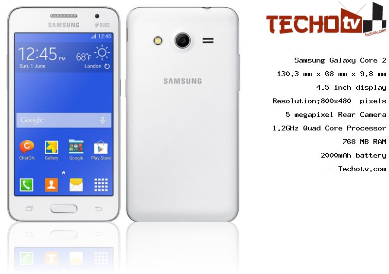 Samsung Galaxy Core 2 full specification