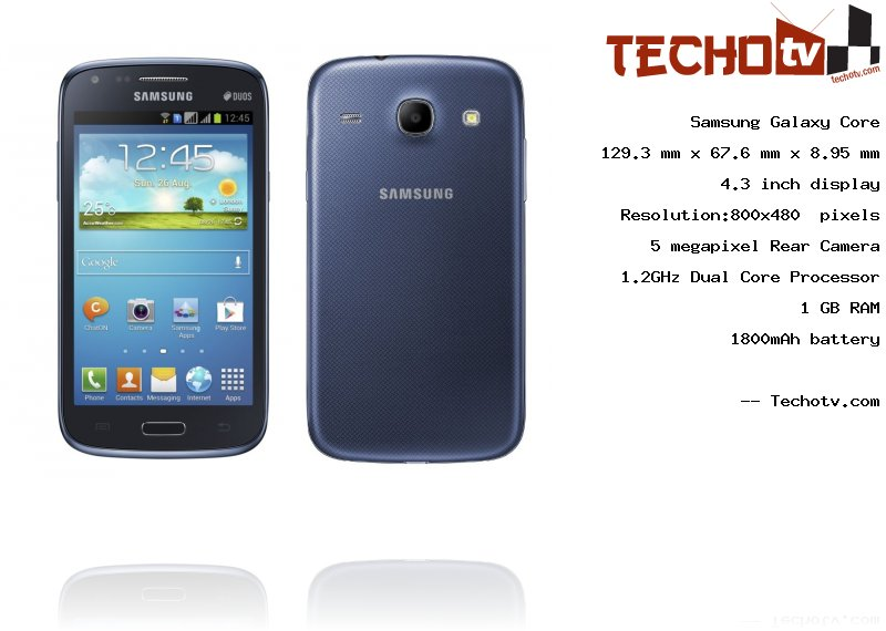 Samsung Galaxy Core full specification
