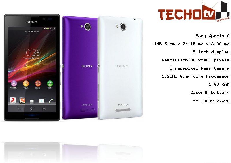 Xperia C Specification Sony Xperia C p...