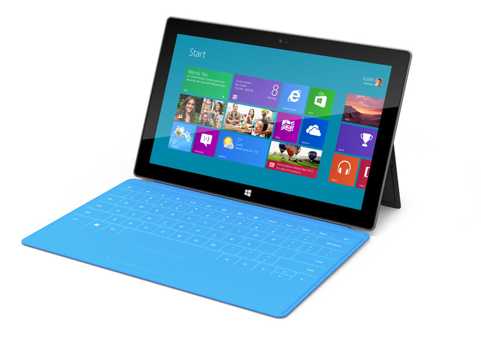 microsoft surface tablet price release date availability Windows 8 Tablets