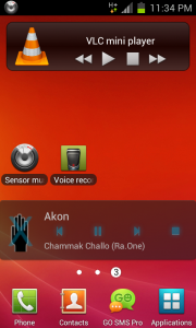 music player widget android download 180x300