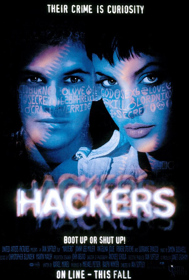 watch hackers movie angelina jolie Top 5 Tech movies for Techie Geeks