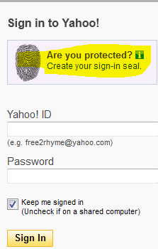 ymail sign up login page