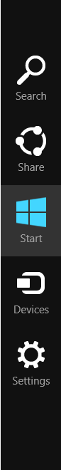 How to prevent charms bar accidental popup in Windows 8