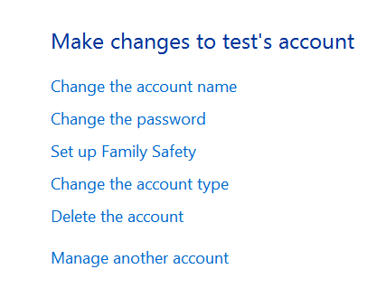 delete rename user account windows 8 How to create a new local user account on Windows 8