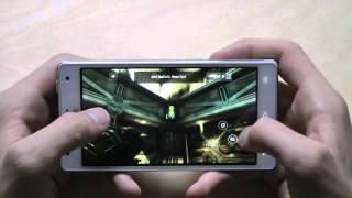 LG Optimus G gameplay