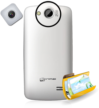 Micromax-Bolt-A51 rear camera