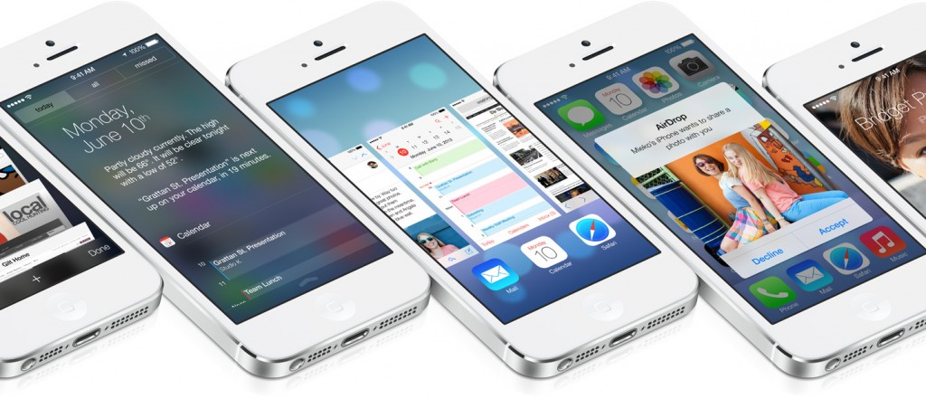 iOS 7 design overhaul