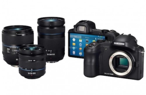 Samsung Galaxy NX Android DSLR Mirrorless Camera Images, Details Leaked