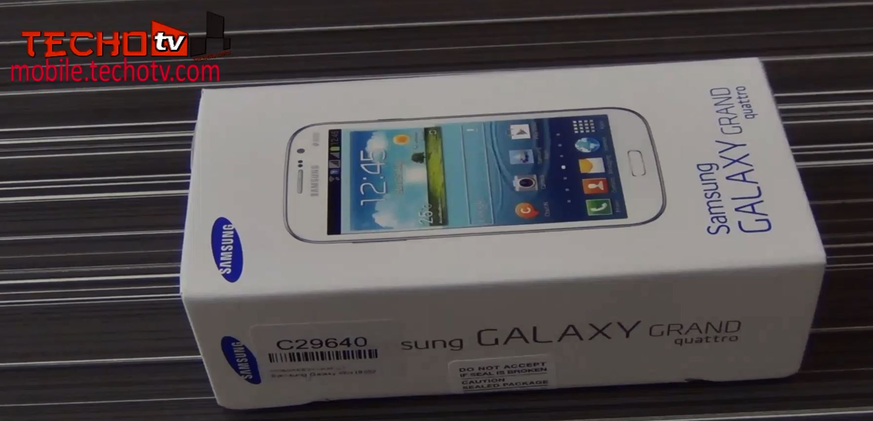 Samsung Galaxy Grand Quattro Unboxing