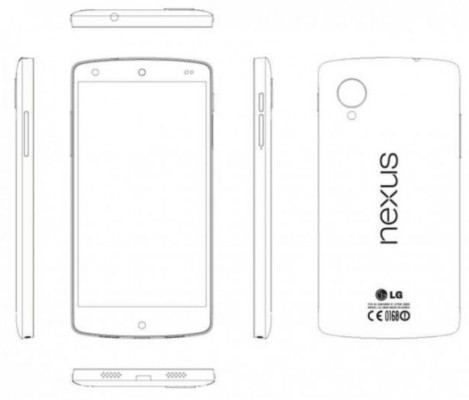 Google Nexus 5 Full Specifications, Images leaked, Release Date