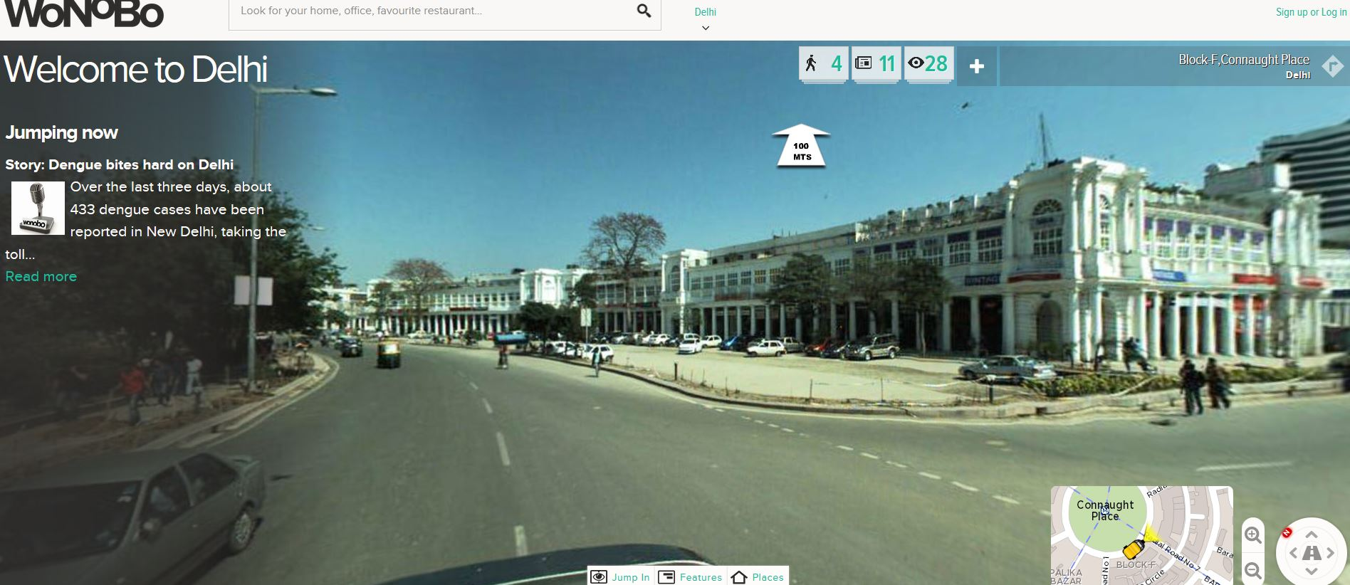 Street View Maps in India, a reality with Wonobo Maps